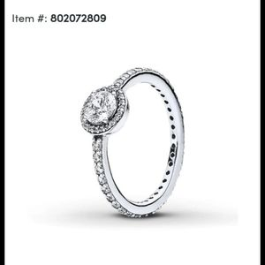 Pandora classic beauty Sterling silver ring s.5